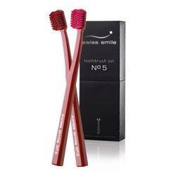 SWISS SMILE miękka & ultra miękka szczoteczka do zębów No. 5 Toothbrushes, opakowanie 2 szt.