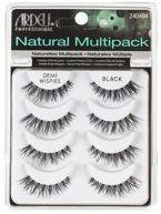 ARDELL Natural Demi Wispies Multipack 4 pary sztucznych rzes Black